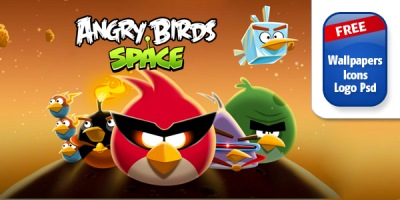 Angry Birds Space iPhone, iPad & Desktop Wallpapers!