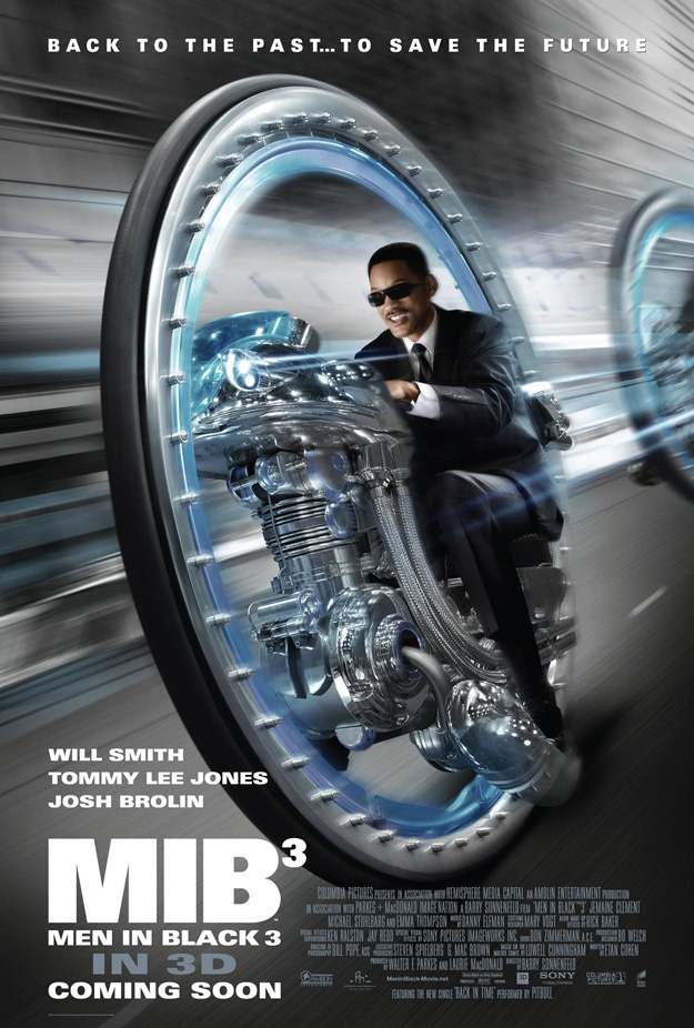 International Poster for Men in Black 3 Hits