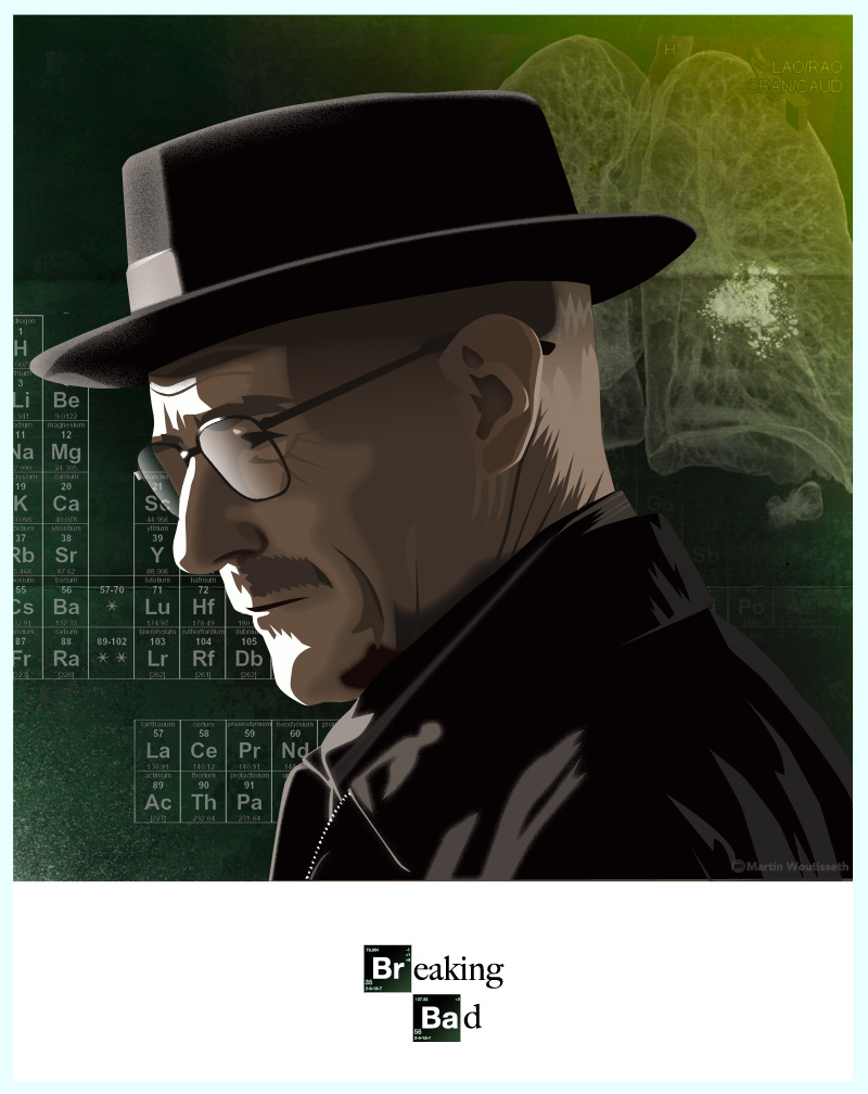 breaking bad character art (8)