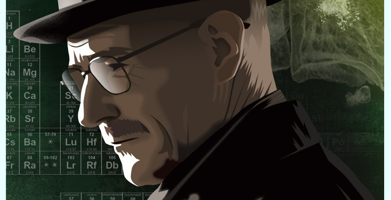 Breaking Bad Character Art Poster's