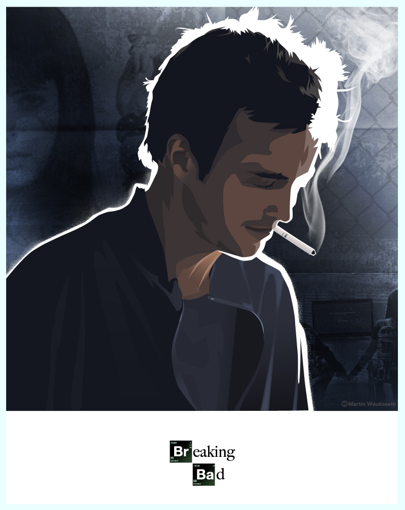 breaking bad character art (7)