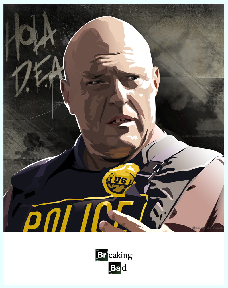 breaking bad character art (5)