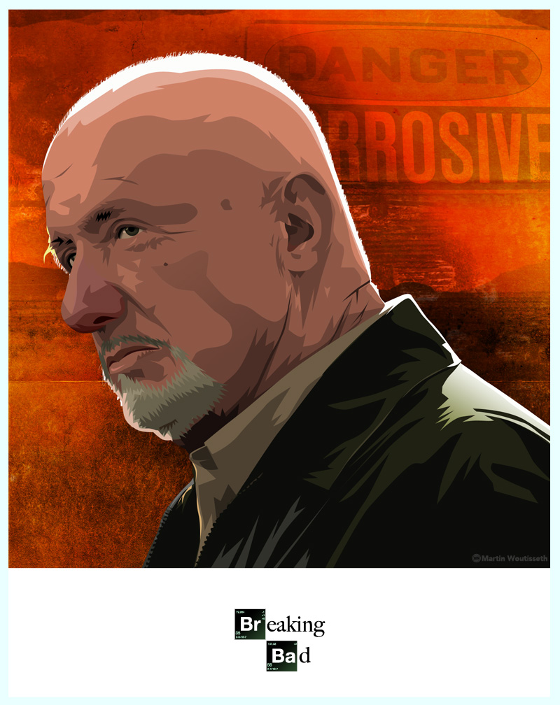 breaking bad character art (3)
