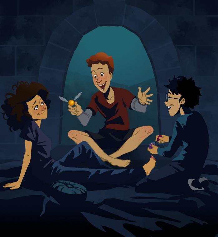 Harry Potter Cartoon Style Art (9)