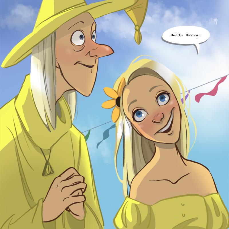 Harry Potter Cartoon Style Art (7)