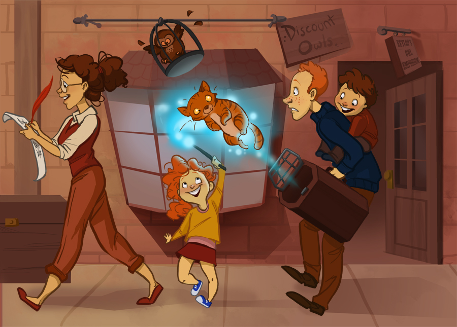 Harry Potter Cartoon Style Art (5)