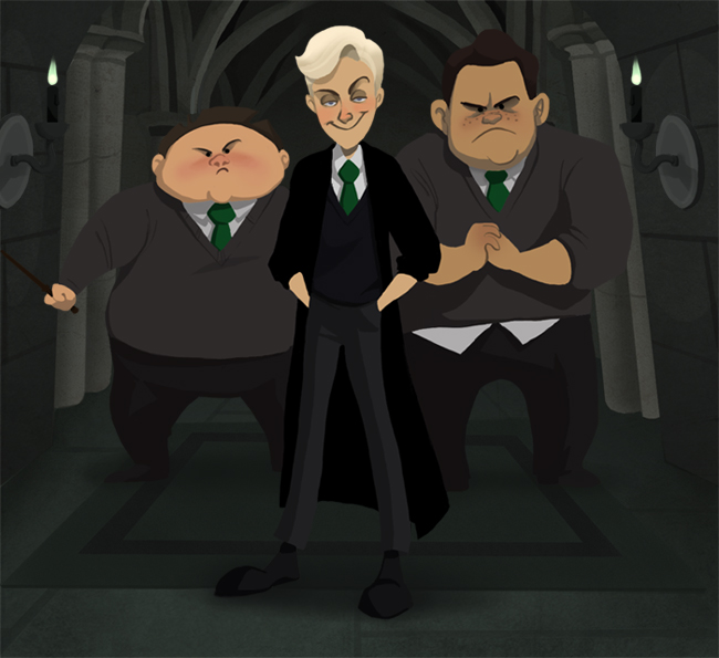 Harry Potter Cartoon Style Art (2)