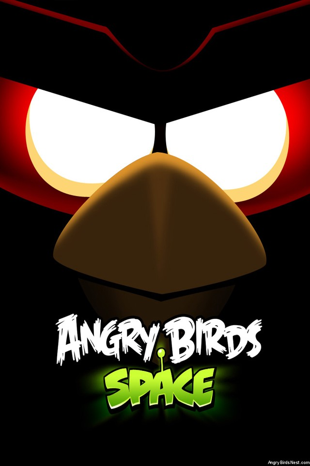 Angry-Birds-Space-Red-Bird-Eyes-iPhone-Wallpaper