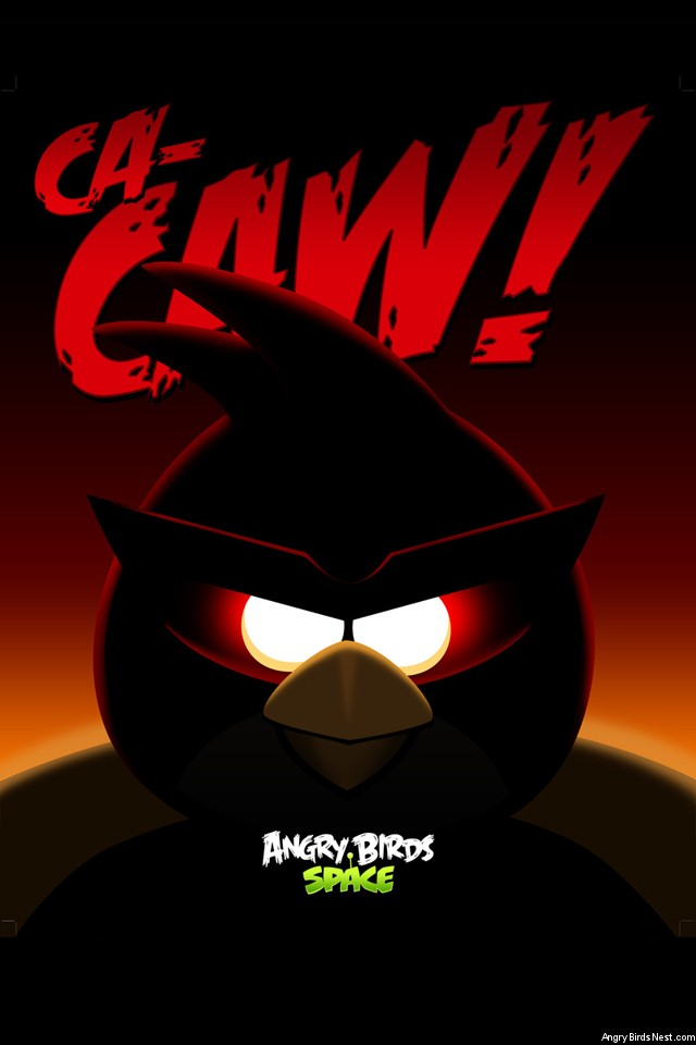 Angry-Birds-Space-Red-Bird-iPhone-Wallpaper