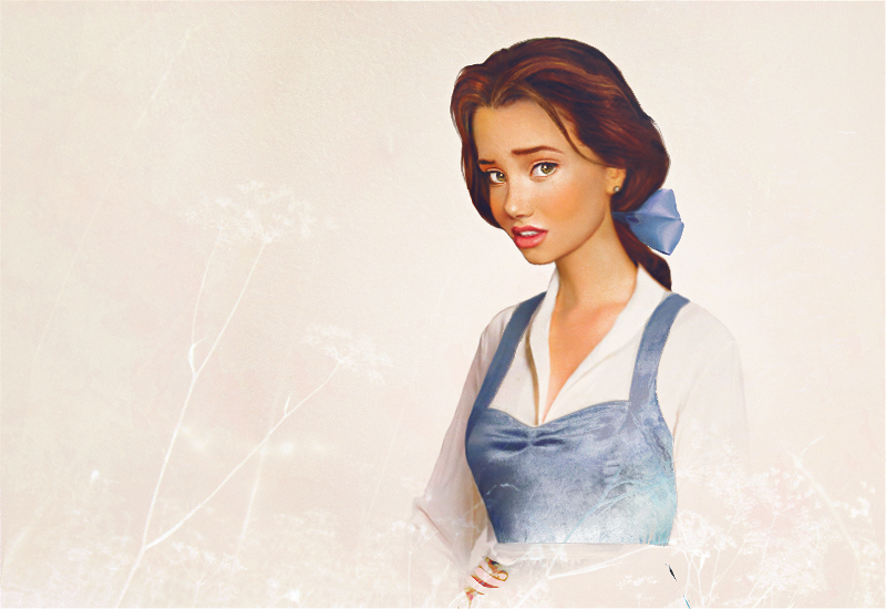 Fantastic Realistic Disney Princess Art