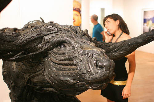 Insane Sculptures Made From Old Tires