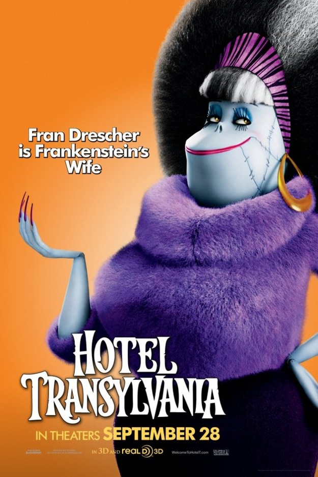 Stunning Character Posters For Hotel Transylvania. (5)