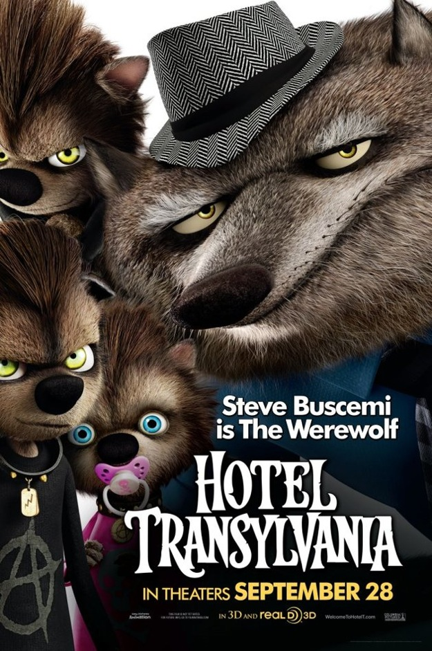 Stunning Character Posters For Hotel Transylvania. (4)