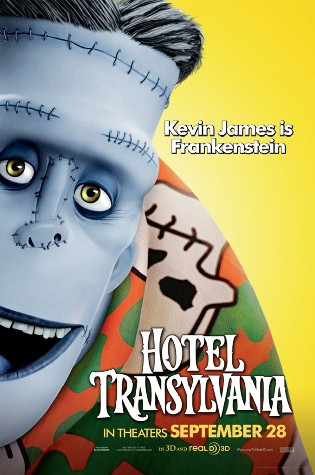 Stunning Character Posters For Hotel Transylvania. (3)
