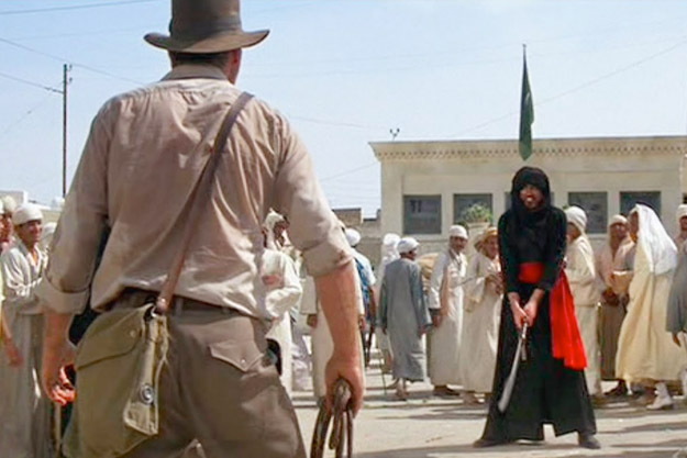 RAIDERS OF THE LOST ARK Complete Sword Fight Scene!