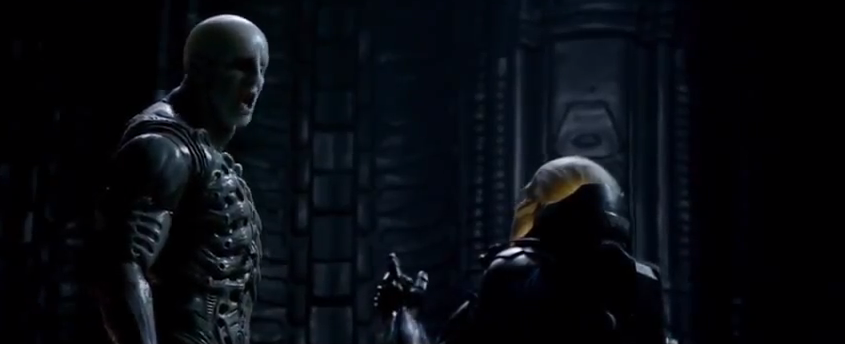 PROMETHEUS Deleted Scene - The Words of the Engineer