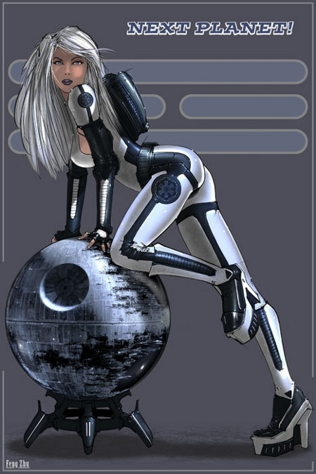 A Gallery of Star Wars Pin-Up Propaganda (6)
