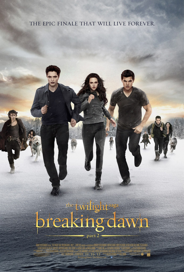 Breaking Dawn Part 2 Posters And Photos
