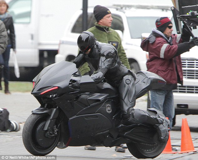 ROBOCOP's New Motorcycle!