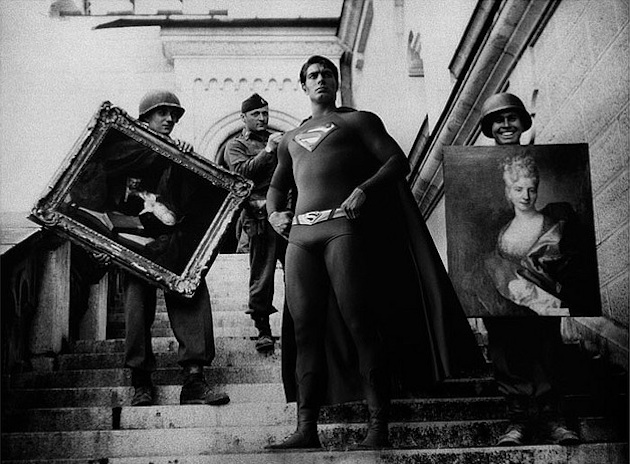 historic photographs with Super Heroes (4)