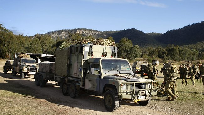The army has six-wheel-drive variants.