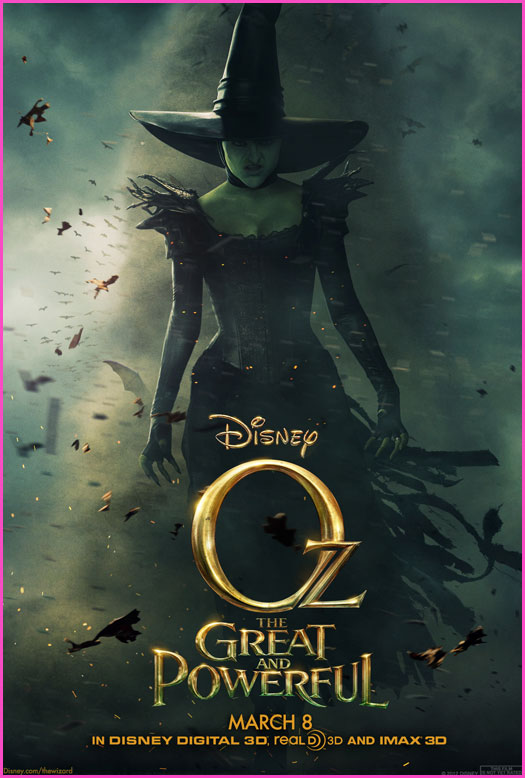 OZ THE GREAT AND POWERFUL posters