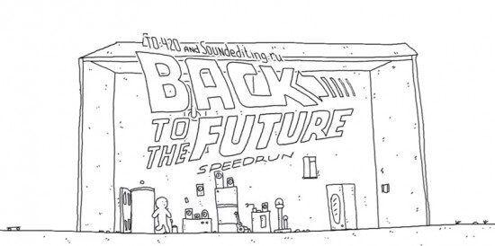 'Back to the Future' Animated In 60 Seconds