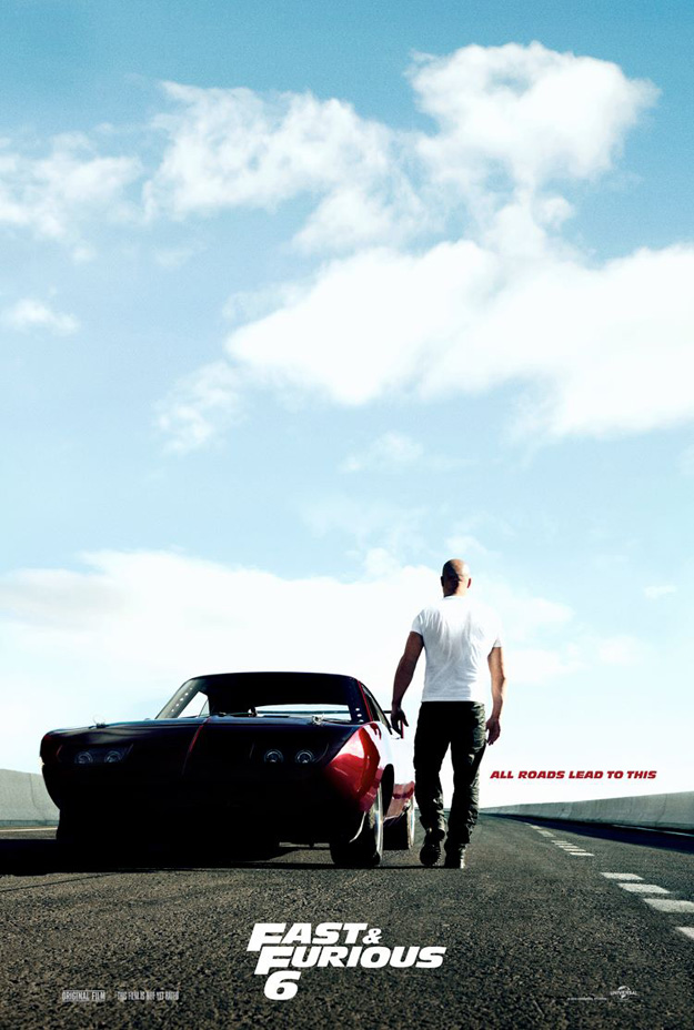 fast and the furious 6 poster