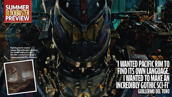 Guillermo Del Toro Talk About PACIFIC RIM