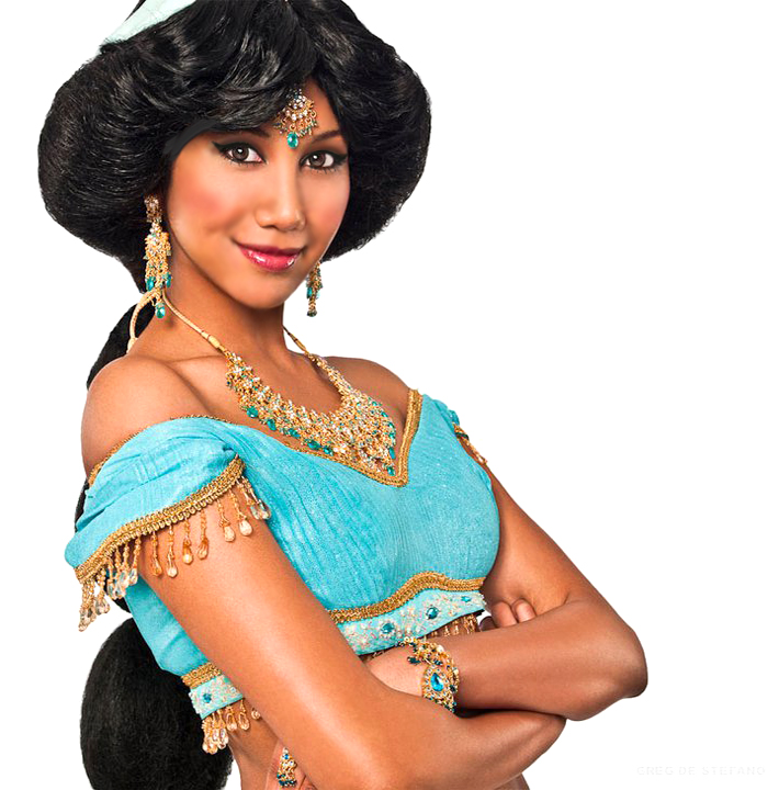 Sexy Princess Jasmine Cosplay
