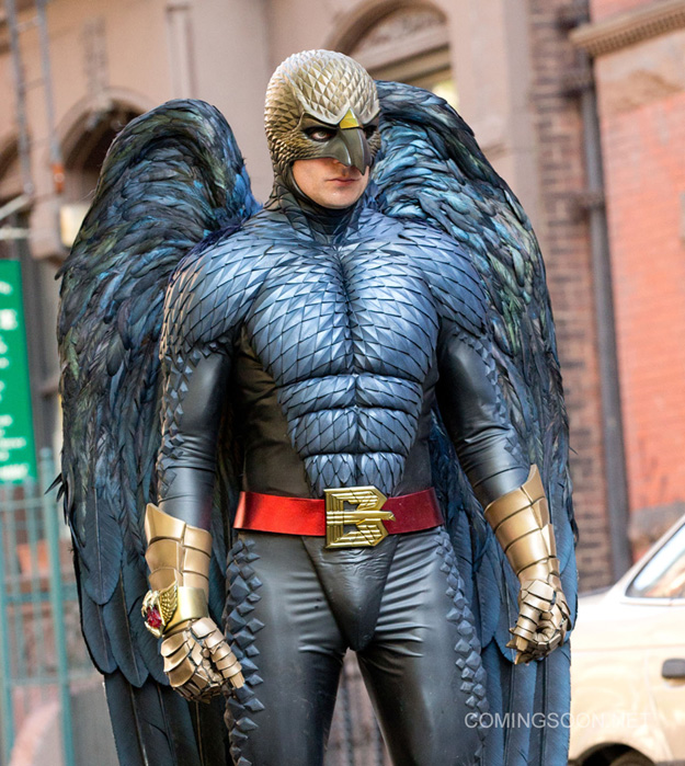 Birdman set photos