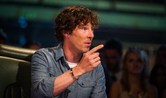 Benedict Cumberbatch on Topgear