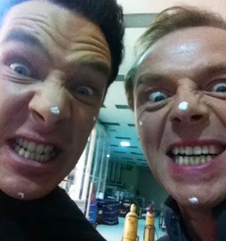 Simon Pegg Prank His Star Trek Into Darkness Castmates