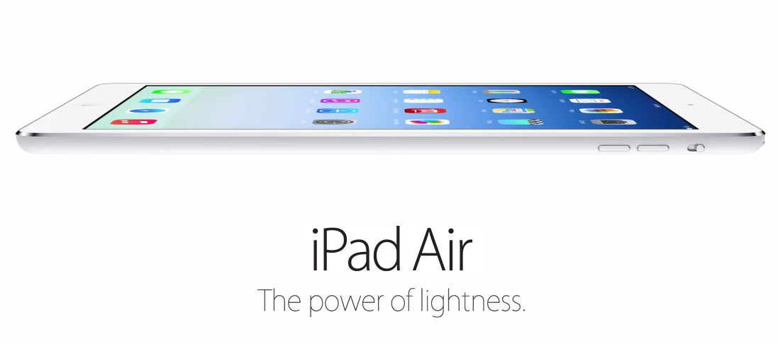 iPad Air revealed