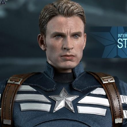 Captain America & Steve Rogers Collectible Figures Set