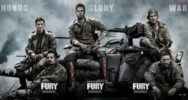 Brad Pitt's Fury Got a New Banner
